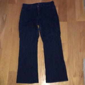 NYDJ Bootcut Jeans dark 10 petite